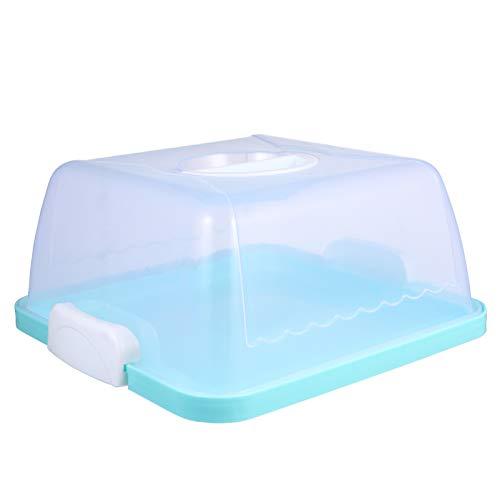 ABOOFAN - Caja para tarta de plástico para guardar bizcochos o pasteles....