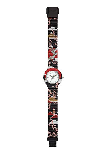 HIP HOP Ladys' I LOVE JAPAN WATCH Collection MONO-COLOUR WHITE dial 3 Hands...