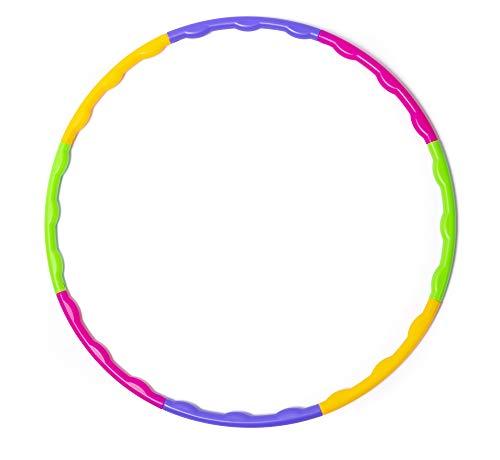 Lemong Hula-Hoop-Reifen für Kinder, zerlegbar, klein, für Training, Sport & Spiel Quan, 7
