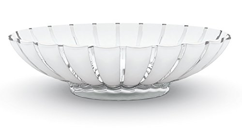 Guzzini Centro de mesa/Frutera 'Grace' 30,5 x 37,5 x h9 cm