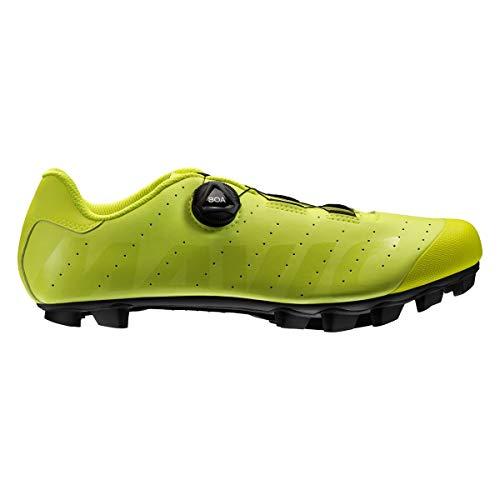 MAVIC Crossmax Boa Schuhe Safety Yellow Schuhgröße UK 11   EU 46 2020 Rad-Schuhe Radsport-Schuhe