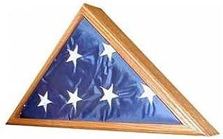 Veteran Flag Display Case - Case Only - OAK