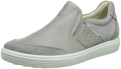 ECCO Damen Soft 7 Ladies Slip On Sneaker, Grau (Wild Dove 51327), 43 EU