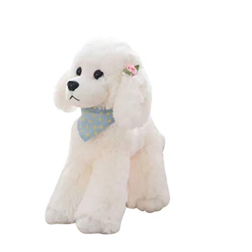 Hunpta @ 25 cm Weiches Plüschtiere Simulierter Hund Stofftier Home Deko Kissen Plüschtier Junge Mädchen Kuscheltier Puppe Plüsch Spielzeug Geburtstag Weihnachten Geschenk für Kinder