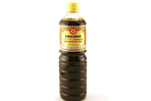 Usukuchi (Light Color Soy Sauce) - 33.8fl Oz (Pack of 1)