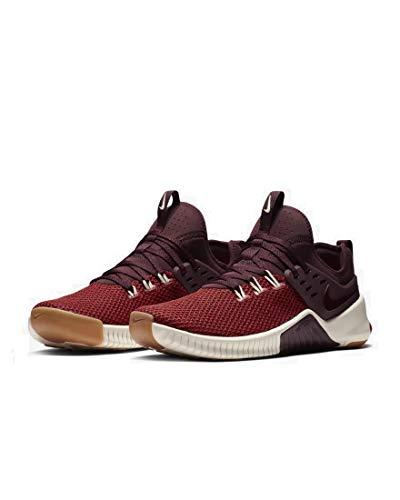 Nike Herren Free x Metcon Fitnessschuhe, Rot (Dune Red/Burgundy Crush-Light 626), 42.5 EU