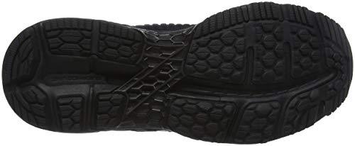 Asics Gel-Kayano 25, Zapatillas de Entrenamiento para Mujer, Negro (Black/Black 002), 37.5 EU