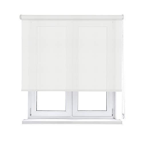 KAATEN Estor Enrollable Screen 10%, Blanco, 90x190