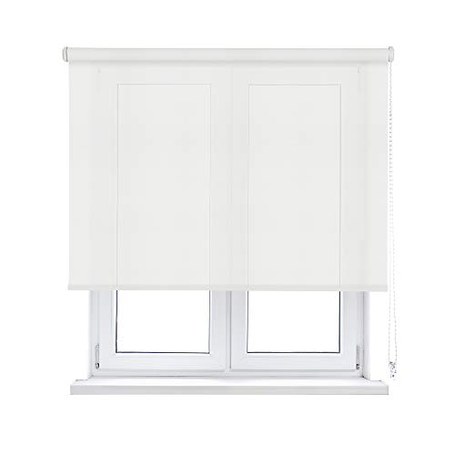 ESTOR ENROLLABLE SCREEN BLANCO - APERTURA 10% (75_x_190_cm)