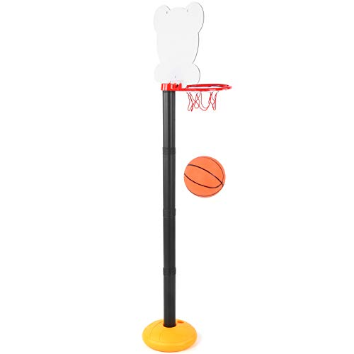 01 Juguete Deportivo para niños, Juguete para portería de Baloncesto, Estable Seguro para Uso Profesional en Interiores al Aire Libre Propósito General