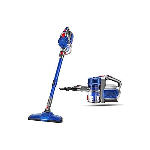 Aspirador con Cable con Cepillo motorizado Aspirador de Palo con dirección giratoria, Soporte de Mano silenciosa aspiradora LUDEQUAN