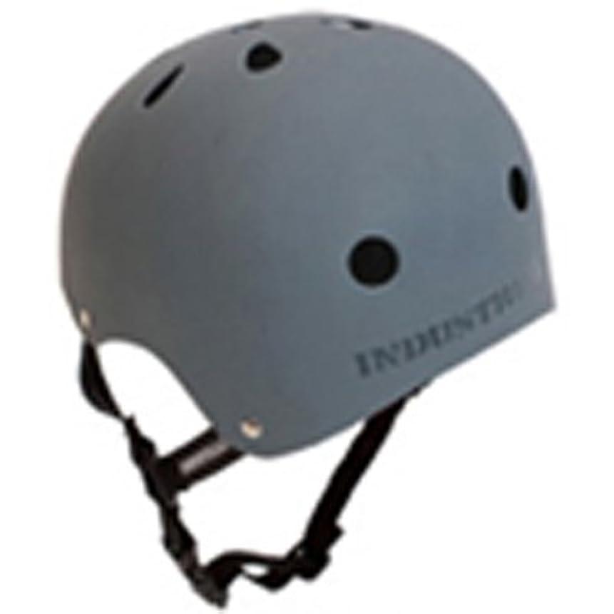 懸念マネージャーループインダストリアル(INDUSTRIAL) スケートボード ヘルメット プロテクター 大人用 子供用 GRY