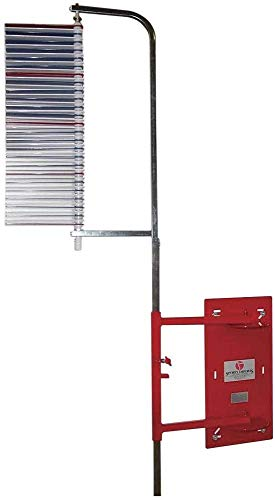 Vertec Wall Mounted, Standards, High Jump 6 to 12 Foot Vertical Jump Tester