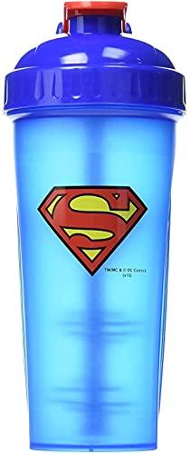 Performa Hero Series DC Shakers - Proteinshaker Hero Shaker Allenamento Bodybuilding - 800ml (Superman)