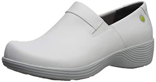 Dansko Women's Coral Clog, White Leather, 42 Medium EU (11.5-12 US)