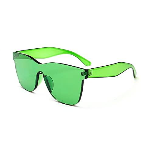 LUOXUEFEI Gafas De Sol Gafas De Sol Verde Azul Violeta Rojo Gafas De Sol Mujer Accesorios