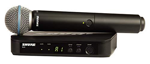 SHURE BLX24E/B58 BETA 58A - Sistema de radio con micrófono dinámico
