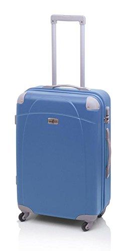 Queralt - Maleta rígida john travel tiara , talla m, color azul