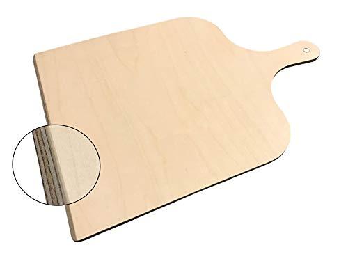 SIXBY Pizzaschaufel aus Holz 43 x 30cm