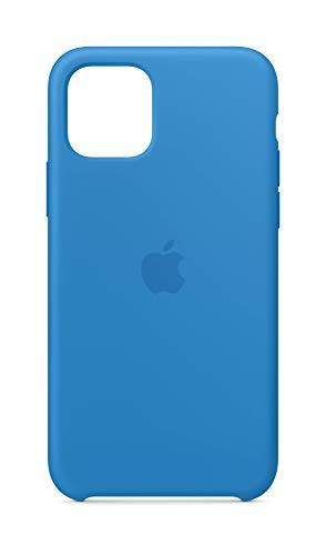 Apple Silikon Hülle (iPhone 11 Pro) - Surfblau