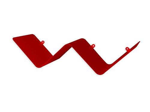 mensole da muro rosse Element System 11343-00012 Mensola Zig-Zag a Parete