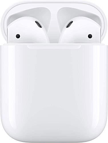 【進化版Bluetooth5.0 イヤホン】Apple Airpods 完全 ワイヤレスイヤホン iPhone Bluetooth ヘッドセット自動ペアリング 蓋を開けて瞬間ペアリング Hi-Fi重低音 最大4-5時間連続音楽再生 マイク内蔵 光センサー技術 AAC対応 CVC6.0ノイズキャンセリング 左右分離型 Siri対応 ipad/windows/Android適用