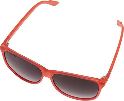 Urban Classics Unisex Sunglasses Chirwa UC Sonnenbrille, red, one size