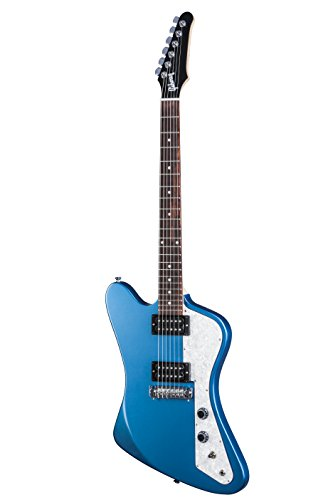 Gibson USA 2017 Firebird Zero Faded E-Gitarre - Pelham Blue (exklusiv bei Amazon)