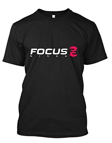 Focus Bike Mountains Sport Bikes Men's T Shirt Summer Fashion Crew Neck Tees Cotton Short Sleeve Black Tops S-3XL
