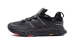New Balance Herren Hierro V5 Fresh Foam Trailrunning-Schuhe, Schwarz, 49 EU