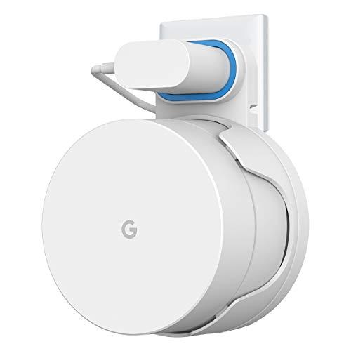 Cozycase Soporte para Google WiFi, Construido en la gestión de Cables, No Requiere Tornillos (1-Pack)