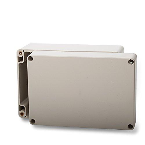 edi-tronic ABS Leergehäuse 160x110x90mm Industriegehäuse IP65 Kunststoff Gehäuse Box Kasten