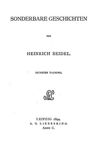Gesammelte schriften von Heinrich Seidel