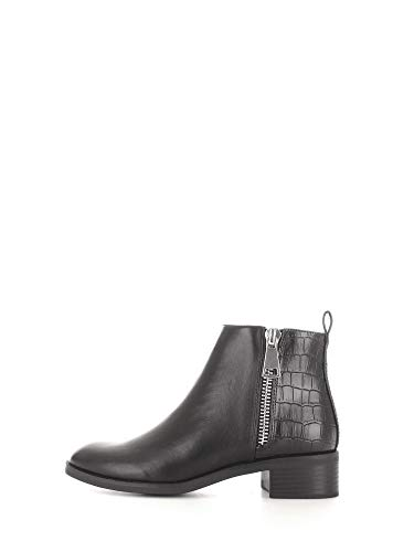 ONLY Damen Ankle Boots Bright Structure PU Bootie schwarz 40