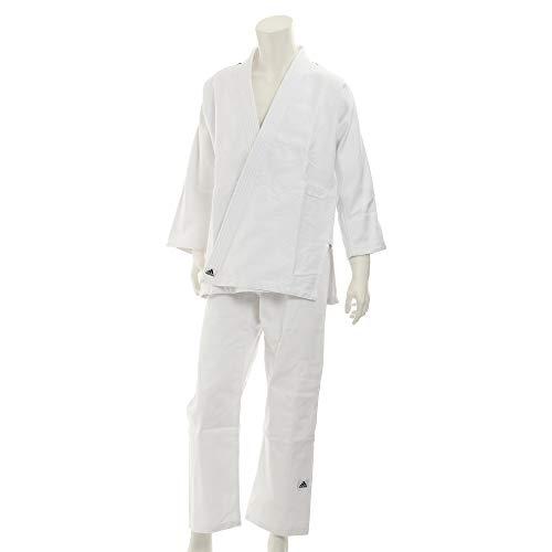 adidas - Kimono de Artes Marciales, tamaño 190 UK, Color Brilliant Blanco