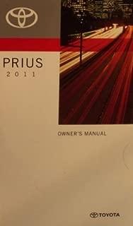 2011 Toyota Prius Owner Manual