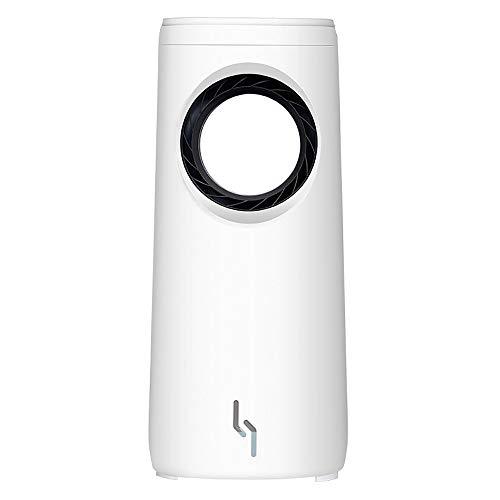 QXFJ Aire Acondicionado PortáTil,Ventilador De Aire Acondicionado Sin Hojas RefrigeracióN por Agua Ventilador De RefrigeracióN DoméStico Enfriador Humidificador (2 Piezas)