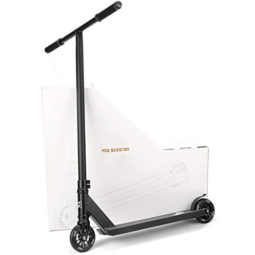 WYJJ Pro Scooter - Tricks Freestyle Scooters con Ruedas de aleación de 110 mm, Stunt Scooters para niños de 8 años en adelante, Principiantes, Adultos