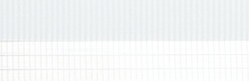 Doppelrollo mit Blende – Doppel Rollo – Kettenzug - 120 cm (Breite) x 180 cm (Länge) in Weiss