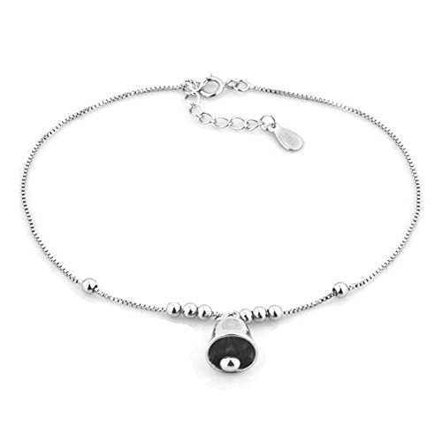 Uniqueen Simple Sterling Silver Beach Ankle Anklet Bracelet For Girlfriend
