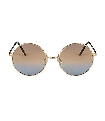 SIX - Gafas de sol con cristales redondos de colores (326-086)