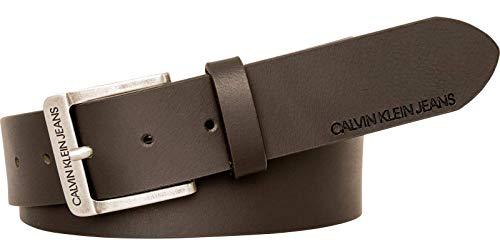 Calvin Klein J 4cm Ckj Belt Cintura, Marrone (Turkish Coffee 201), 7 (Taglia Produttore: 95) Uomo