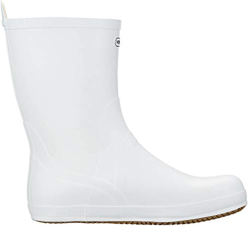 Viking Seilas, Bottes & Bottines de Pluie Mixte Adulte Blanc (White) 43 EU