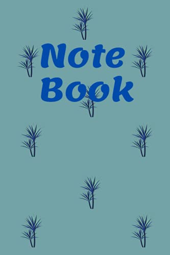 Notebook: An everyday colourful lined notebook for everyday use
