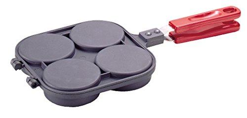 パール金属『おやつDEっSEふっ素加工大判焼器4穴(D-420)』