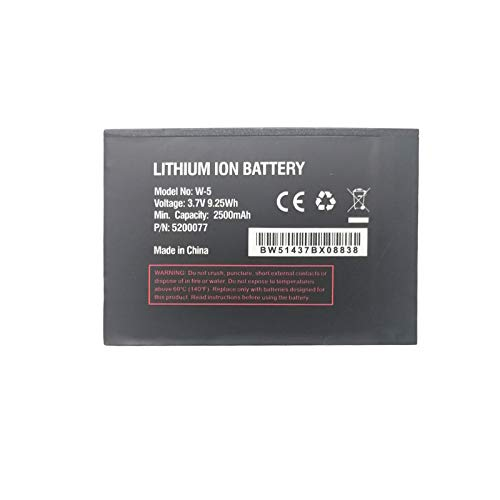 Price comparison product image Pattaya New Replacement Battery W-5 for Sprint AirCard 770S,  AirCard 771S AT&T Unite (AC770S),  UNITE-344B Mobile WiFi Hotspot Netgear 5200031 5200060 5200077