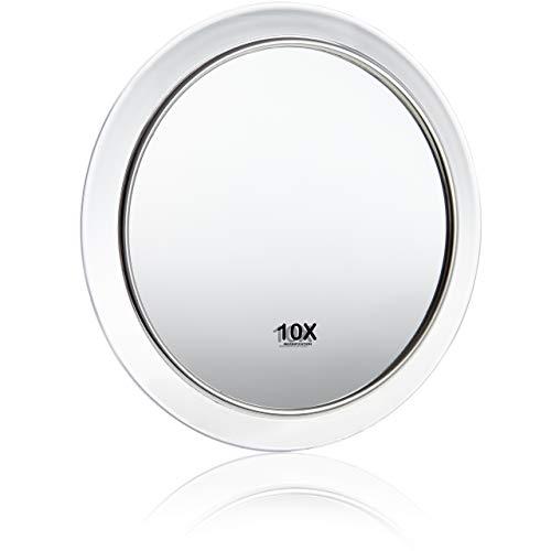 Fantasia - lupa espejo, un aumento de 10x, de acrílico transparente, con ventosas, diámetro interno 8 cm