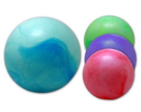 wuselwelt 007406, PVC Marmorball 30 cm, Marmor Spielball, Wasserball, Beachball, Strandball