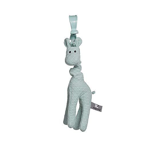 BO Baby's Only - Vibrierende Giraffe - Gestricktes Stofftier für Max-Cosi - Babyspielzeug 0+ Monate - Mint
