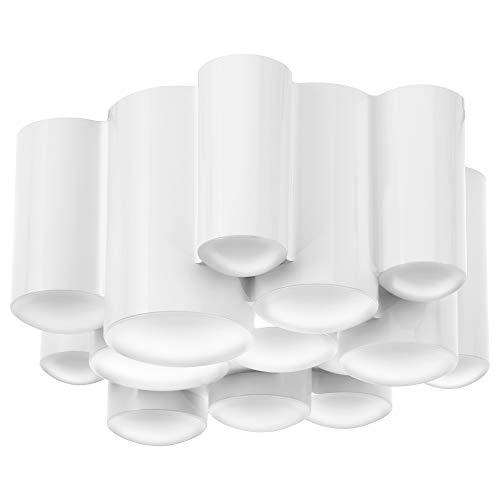 SÖDERSVIK LED-taklampa 8,5 cm dimbar glansig/vit